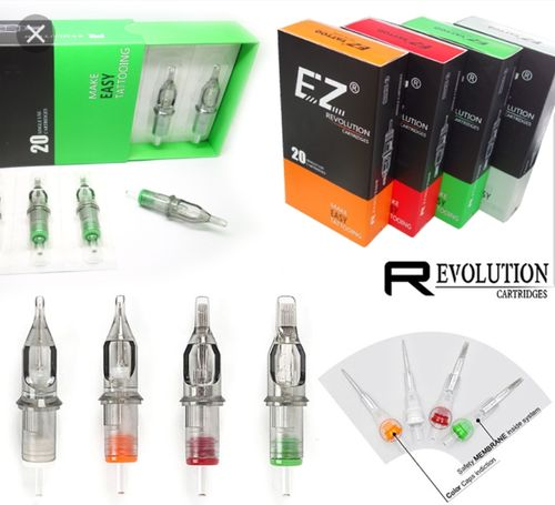 Agujas cartridges Ez Revolution MAGNUN CURVADA