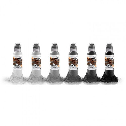 World Famous Ink Monochromatic Set 30ml