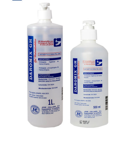 DAROMIX GEL ANTISEPTICO 500ml